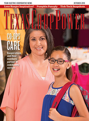 Texas Co-op Power October 2018 Cover
