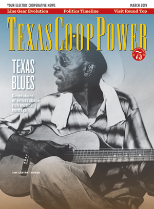 Texas Co-op Power March 2019 Cover