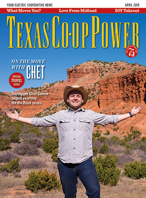 Texas Co-op Power April 2019 Cover